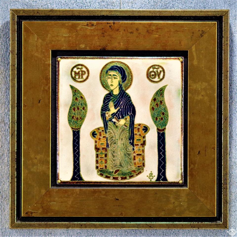 Mária a Khakhuli triptichonról